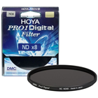 Hoya 77mm Neutral Density ND8 Pro 1 Digital Multi-Coated Glass Filter Local Original Seal Unit