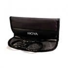 Hoya 4 Pockets Deluxe Filter Local Original seal unit Pouch / Case S (from 37 to 72mm)