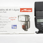 Used - Metz Mecablitz 48 AF-1 digital for Canon