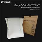 PROOCAM EASYGO-1 Portable Mini Product Studio Photo Light Tent With LED Light 20cm²