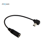 Proocam Pro-F201 External Mini USB to 3.5mm Mic Adapter Cable Wire External for GoPro HERO 4 / HERO 3+
