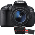 Canon EOS 700d  + EF-S 18-55mm f/3.5-5.6 IS STM Lens (Canon Malaysia)