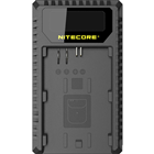 NITECORE UCN1 USB Travel Charger for Canon LP-E6, and LP-E8