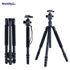 MANBILY AT-425K 4-section Traveller Aluminium Tripod Kit with Ball-Head