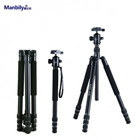 MANBILY AT-428K 4-section Traveller Aluminium Tripod Kit with Ball-Head