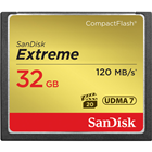 (1-1 Easy Exchange warranty)  SanDisk Extreme 32GB Compact Flash UDMA 7 Speed Up To 120MB/s