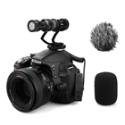 Comica CVM-VM10  Full Metal Compact On Camera Cardioid Directional Mini Shotgun Video Microphone for Smartphone iPhone,HuaWei,DJI Osmo,SonyA9/A7RII/A7RSII,GH4/ GH5