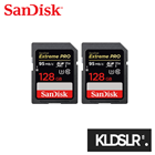 (1-1 Easy Exchange Warranty) 2x SanDisk 128GB Extreme PRO SDXC UHS-I Memory Card (SanDisk Malaysia)  (SD Card)