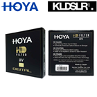 Hoya HD (Hardened Glass) 82mm UV (Ultra Violet) 8-layer Multi-Coated Digital Filter Local Original Seal Unit