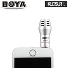 BOYA BY-A100 Omni Directional Condenser Microphone for iPhone iPad iPod Touch Android Smartphones