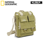 National Geographic NG2300 Earth Explorer Slim Shoulder Bag for IPAD,Mirrorless camera and 2 Lenses