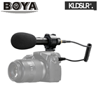 BOYA BY-PVM50 Stereo Condenser Microphone w/ Shock Mount for DSLR Camera LF726