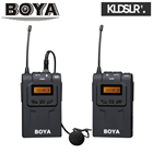 Save RM131! BOYA BY-WM6 UHF Wireless Microphone System