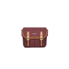Herringbone Maniere Large Camera Bag (Wine)