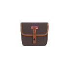 Herringbone Muppen Canvas Camera Bag (Brown)