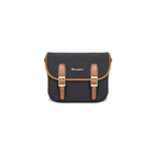 Herringbone Maniere Small Camera Bag (Charcoal)