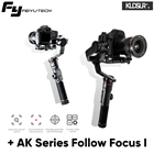 (Ready Stock) Feiyu AK4000 Gimbal Stabilizer + AK Series Follow Focus (Local Set 3 Years Warranty)