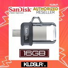 SanDisk Ultra Dual Drive 16GB m3.0 OTG USB Flash Drive for Android & Computers (SDDD3-016G-G46) (SanDisk Malaysia)