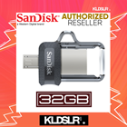 SanDisk Ultra Dual Drive 32GB m3.0 OTG USB Flash Drive for Android & Computers (SDDD3-032G-G46) (SanDisk Malaysia)