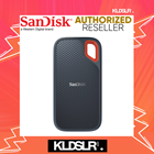 SanDisk Extreme Portable SSD USB 3.1 Type-C (250/500/1024/2048)GB (SanDisk Malaysia)