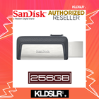 SanDisk Ultra Dual Drive 256GB 130MB/s USB Type-C for Android Smartphone & Tablets (SDDDC2-256G-G46) (SanDisk Malaysia)