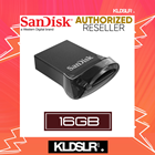 Sandisk Ultra Fit 16GB USB 3.1 130MB/s Flash Drive Pendrive (SDCZ430-016G-G46) (SanDisk Malaysia)
