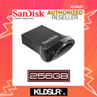 SanDisk Ultra Fit 256GB USB 3.1 Flash Drive CZ430 (SDCZ430-256G-G46) Pendrive (SanDisk Malaysia)