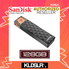 SanDisk Connect Wireless Stick 128GB Wi-Fi USB 2.0 Mobile Storage Media Flash Drive Pendrive (SDWS4-032G-P46) (SanDisk Malaysia)