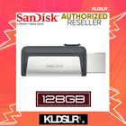 SanDisk Ultra Dual Drive 128GB 130MB/s USB Type-C for Android Smartphone & Tablets (SDDDC2-128G-G46) (SanDisk Malaysia)