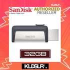 SanDisk Ultra Dual Drive 32GB 130MB/s USB Type-C for Android Smartphone & Tablets (SDDDC2-32G-G46) (SanDisk Malaysia)