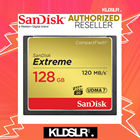 (1-1 Easy Exchange Warranty) SanDisk Extreme 128GB CompactFlash Memory Card (SanDisk Malaysia) (SDCFXSB-128G-G46) (CF Card)