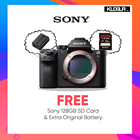 Sony a7S II Mirrorless Digital Camera (Body Only) (FREE 128GB High Speed SD Card + Extra Original Battery) (Sony Malaysia)