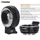 Commlite High Speed AF Lens Mount Adapter for EF/EF-S Lens to E-Mount Camera (CM-EF-E HS)