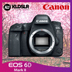 Canon EOS 6D Mark II DSLR Camera (Body Only) (New 3 Months Warranty) (6D / 6D2 / 6D Mark 2)