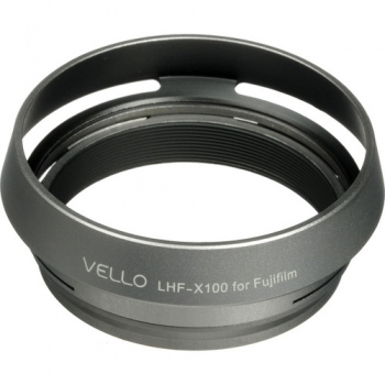 Vello LHF-X100 Dedicated Lens Hood with Adapter Ring for Fujifilm FinePix X100 Digital Camera