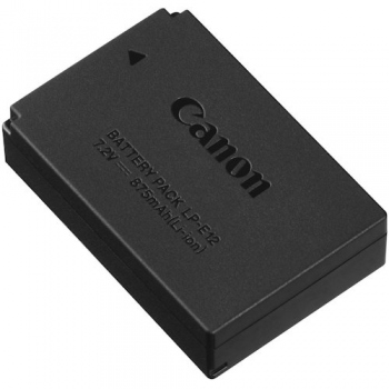 Canon LP-E12 Lithium-Ion Battery Pack for EOS-M Mirrorless Digital Camera (7.2V, 875mAh)