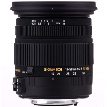 Sigma 17-50mm f2.8 EX DC OS HSM Lens for Canon EOS (New 3 Months Warranty)