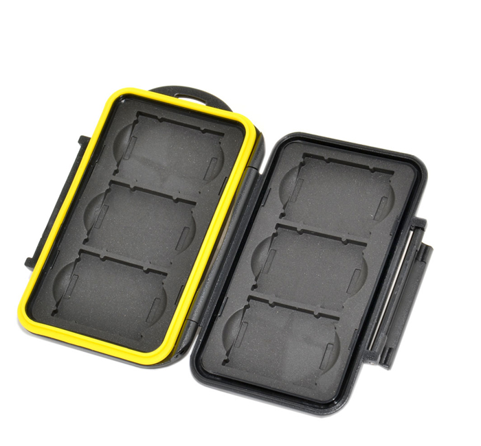 JJC MC-XQD6 Tough Case for SANDISK LEXAR SONY Memory Cards (6x XQD)