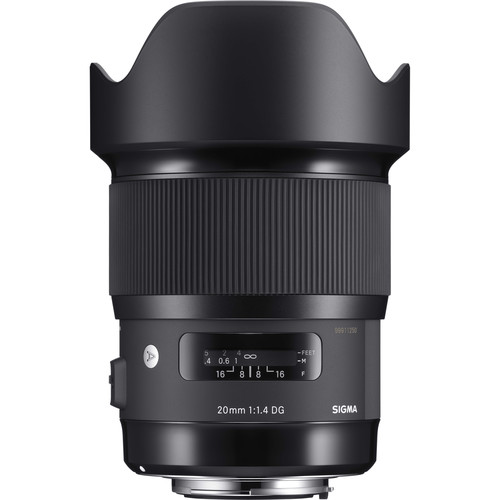 Sigma 20mm f1.4 DG HSM Art Lens for Nikon F (Sigma Malaysia 2 Year Warranty)
