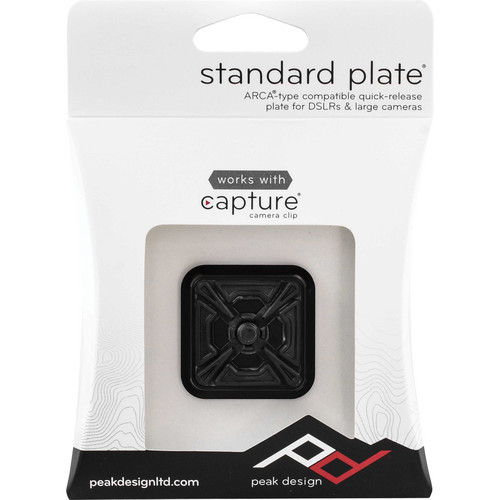 (Ready Stock) Peak Design Standard Plate for All Capture Camera Clips (PL-S1)
