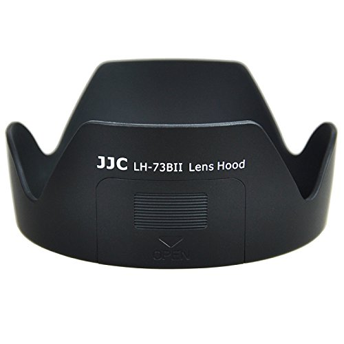 JJC LH-73BII Lens Hood replaces Canon EW-73B for CANON EF-S 17-85 f/4-5.6 IS USM SLR Lens CANON EF-S 18-135mm f/3.5-5.6 IS CANON EF-S 18-135mm f/3.5-5.6 IS STM