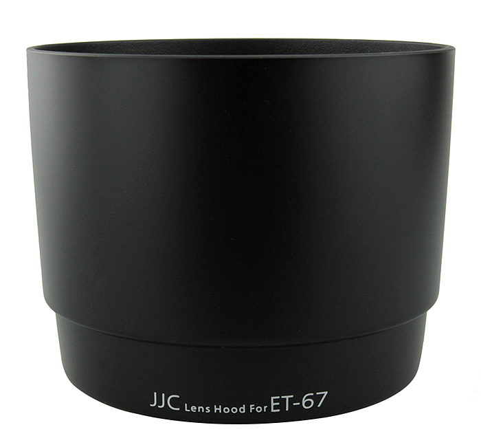 JJC LH-67 Lens Hood replaces Canon ET-67 for EF 100mm f2.8 Macro USM  / EF 100mm f2.8 Macro