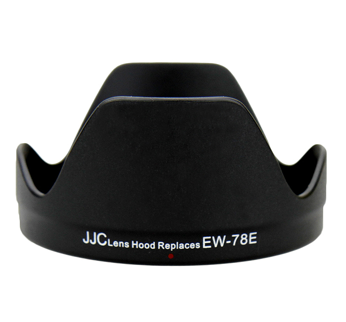 JJC LH-78E Lens Hood replaces CANON EW-78E for EF-S 15-85mm f3.5-5.6 IS USM