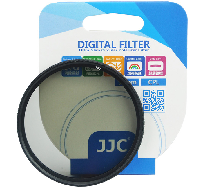 JJC F-CPL A+ Ultra-Thin Multi-Coated Circular Polarizer CPL Filter (62mm)