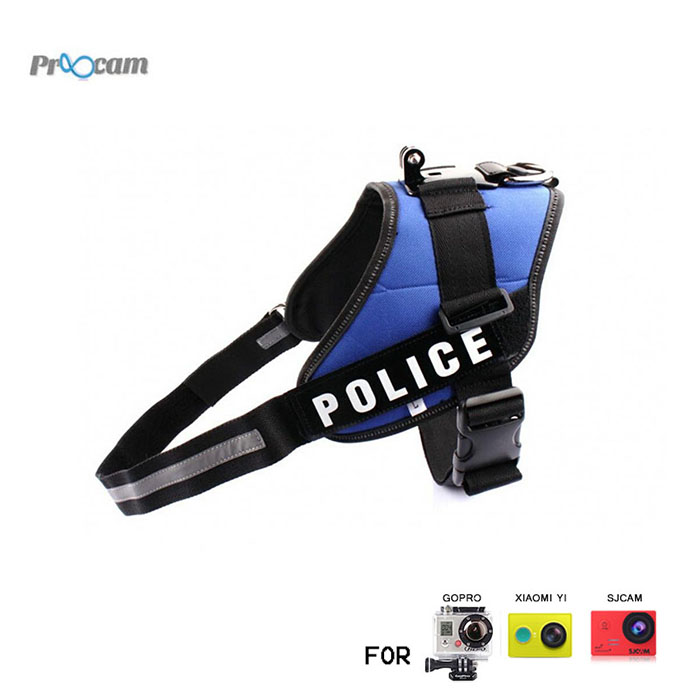 Proocam Pro-F122 Dog Fetch Harness Suitable for Middle and Big Dog for Gopro Hero , SJCAM , MI YI