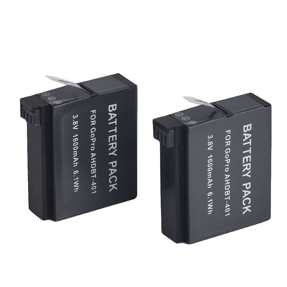 Save Rm25! Replacement GoPro Hero 4 Rechargeable Lithium-Ion Battery (2 Unit)