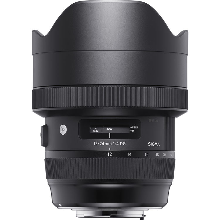 Sigma 12-24mm f4 DG HSM Art Lens for Canon EF Mount (Sigma Malaysia)