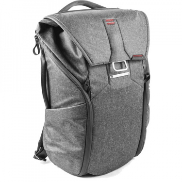 (Ready Stock) Peak Design Everyday Backpack (20L,Charcoal) (BB-20-BL-1)