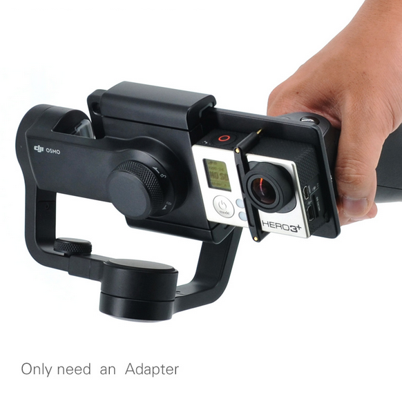 Gopro Adapter Switch Mount Plate For DJI Osmo Mobile Gimbal Hero 5 Only