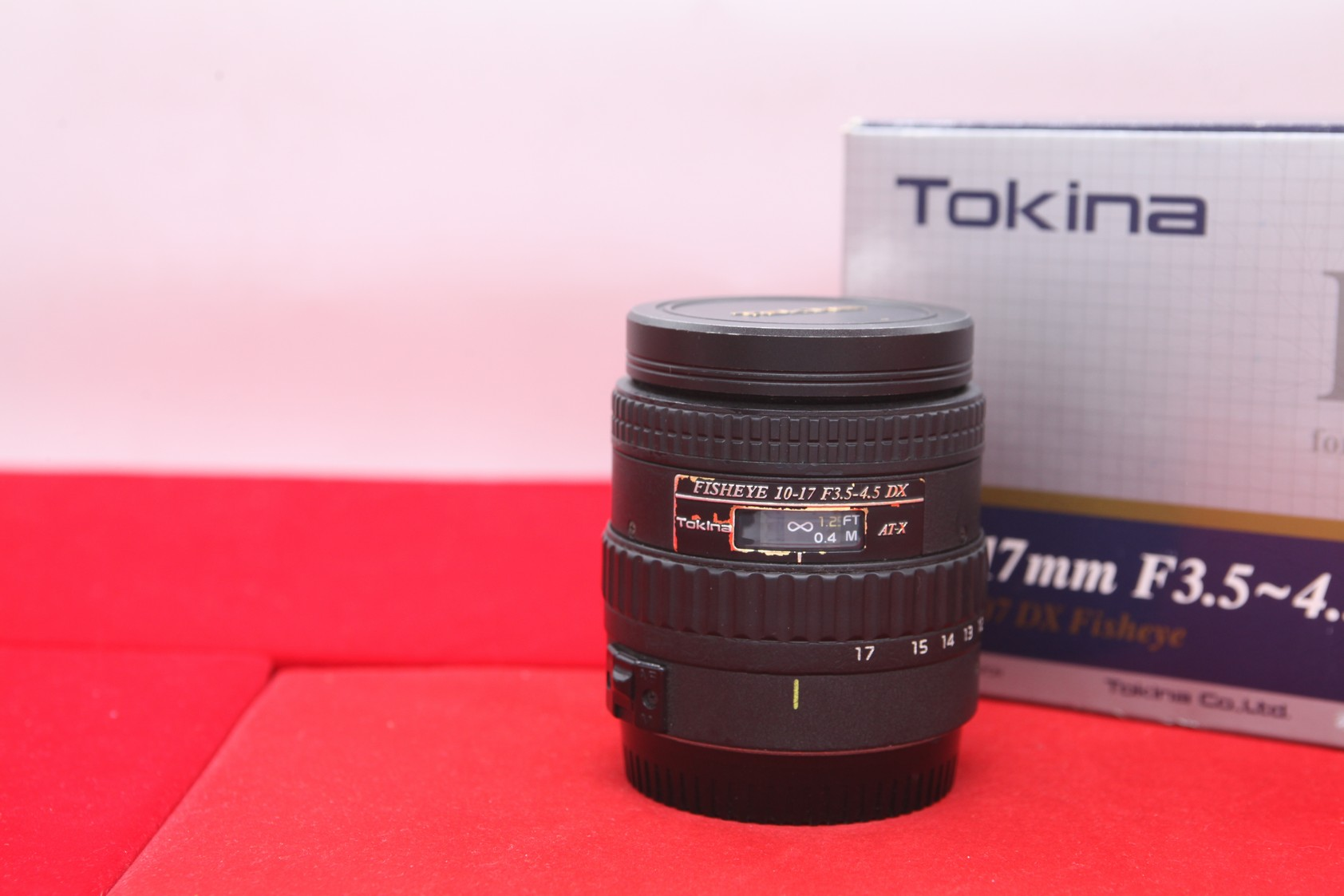 Used - Tokina 10-17MM F3.5-4.5 Lens (Canon)